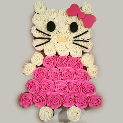 Hello Kitty Designer Cupcakes Set Of 46: Cupcake Delivery Dubai