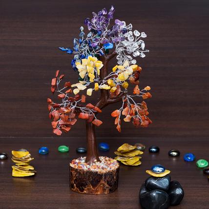 5 Chakra Wish Tree: