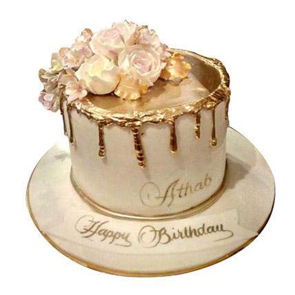 Delightful Roses Cake: