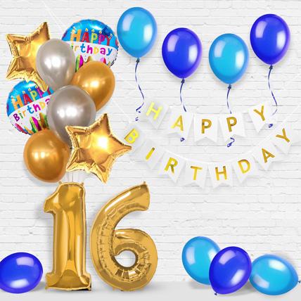 Happy Birthday and  Numeric Balloons Decor: Balloon Decoration Dubai