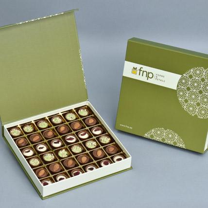Flavoured Chocolate Cups Large Box: Raksha Bandhan Chocolates