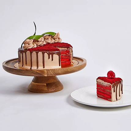 Chocolaty Red Velvet Cake: Anniversary Eggless Cakes