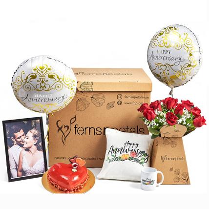 Surprise Anniversary Wishes Box: