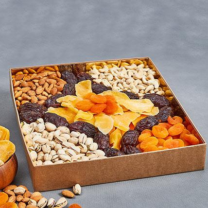Assorted Healthy Delights: Gift Hampers