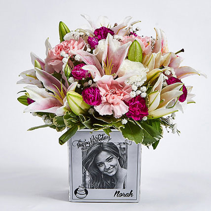 Personalised Vase Birthday Flowers: Best Birthday Gifts for Her