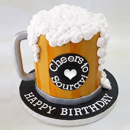 Birthday Special Cheers Cake: