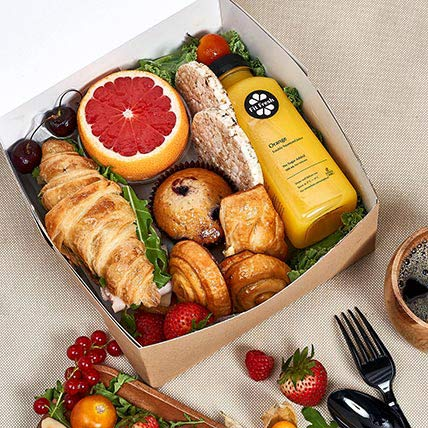 Breakfast Box For One: