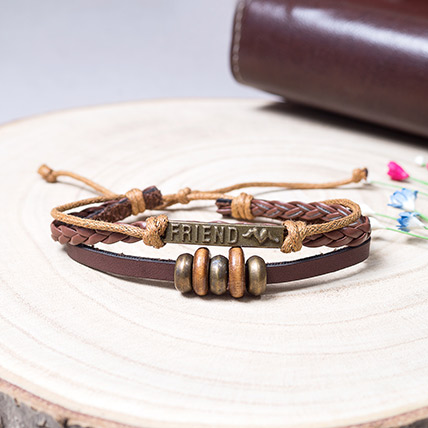 Double Strip Friends Band: Friendship Day Gift Ideas