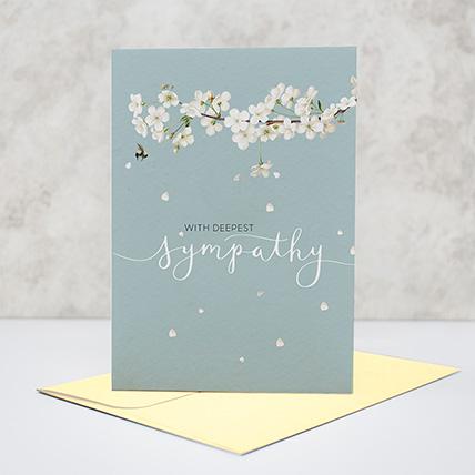 Sympathy Greeting Card: