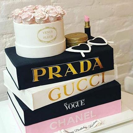 3D Luxurious Brands Cake: