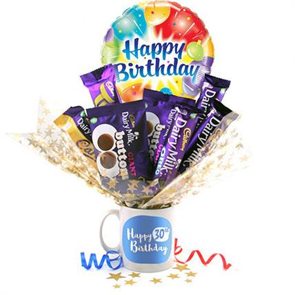 Sweet Bday Gift Hamper: Birthday Gift Ideas For Husband