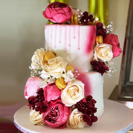 2 Tier Premium Cake:
