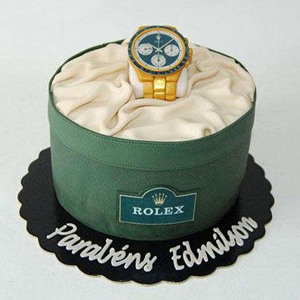 Rolex Watch Designer Cake: