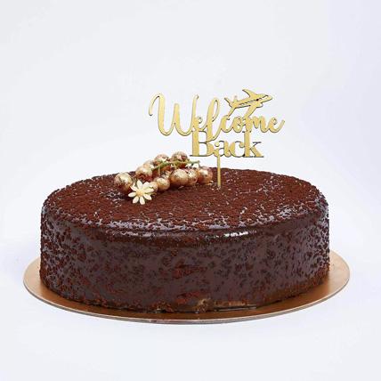 Welcome Back Dark Chocolate Cake: