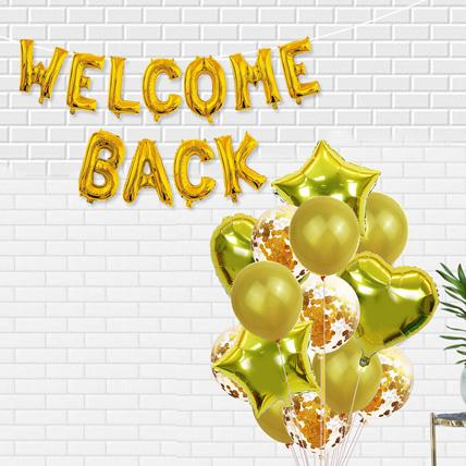 Welcome Back Golden Balloon: