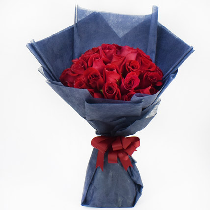 35 Red Roses Bouquet: