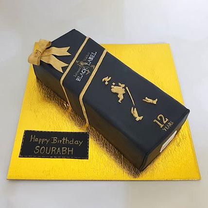 Black Label Cake: 3D Cakes Dubai