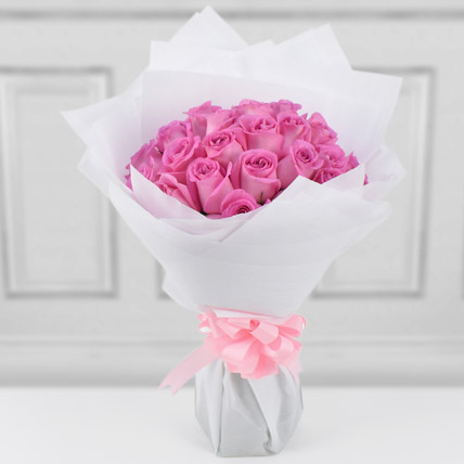 35 Light Pink Roses Bouquet: Order Flowers