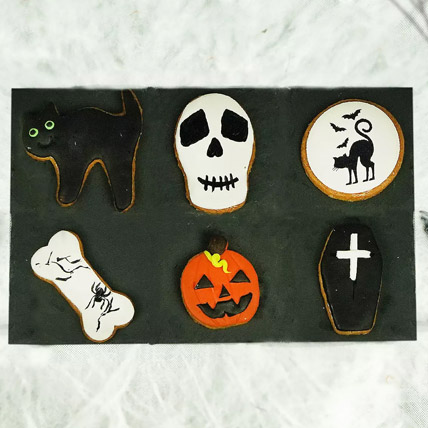 Halloween Favourite Cookies Collection: Halloween Baskets