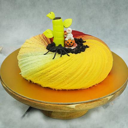 Halloween Sprials Cake: Halloween Themed Cakes