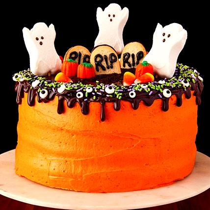 Halloween RIP Cake: Halloween Themed Cakes