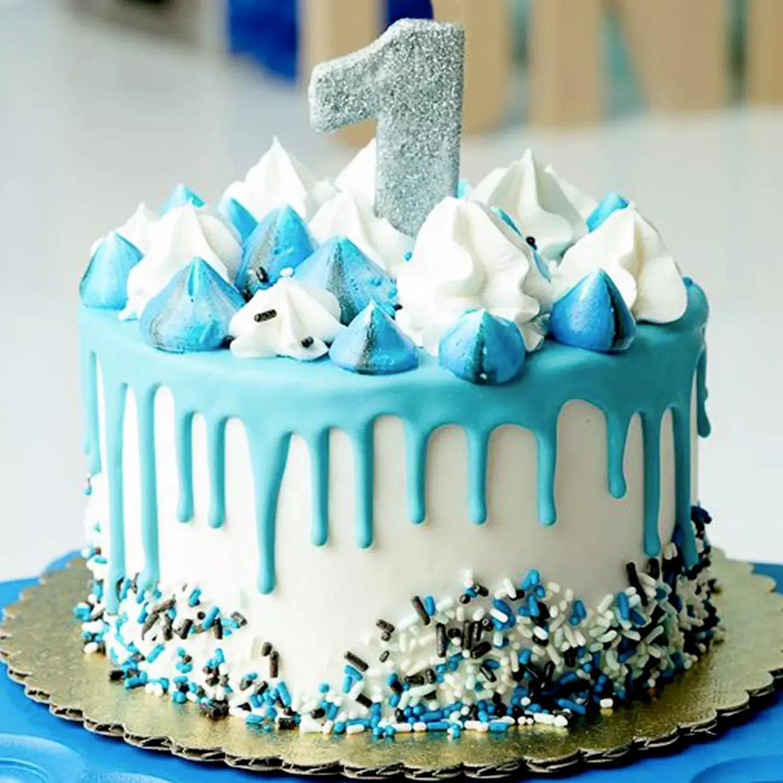 First Birthday Special Red Velvet Cake: 1 year birthday cake