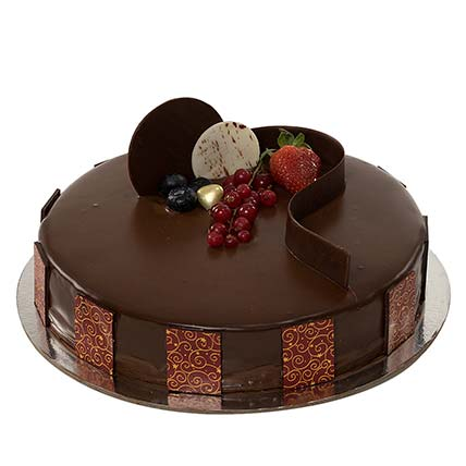 1kg Chocolate Truffle Cake QT: Gift Delivery in Qatar