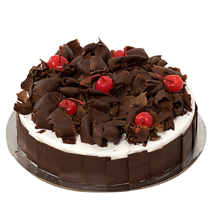 Delectable Black Forest Cake QT: Gifts to Doha