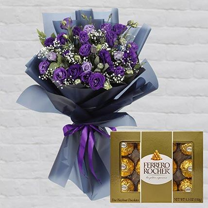 Purple Lisianthus & Ferrero Rocher: Send Combos To Qatar