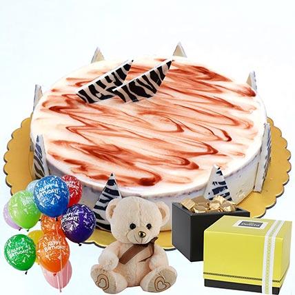 Chocolate Cake & Chocolates Combo: Patchi Chocolates