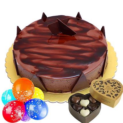 Anniversary Special Ganache Cake Combo: Combos