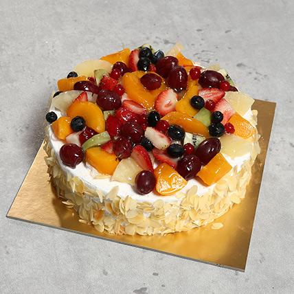 Eggless Fresh Fruit Fantasy: Cakes To Abha