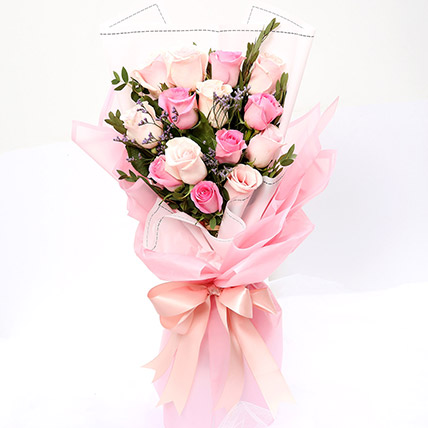 Dreamy Mixed Roses Bouquet SG: Send Gifts to Singapore