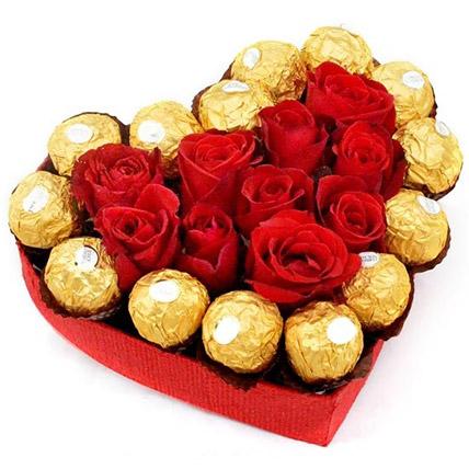 Sweet Love Heart Box: Send Gifts To Sri Lanka