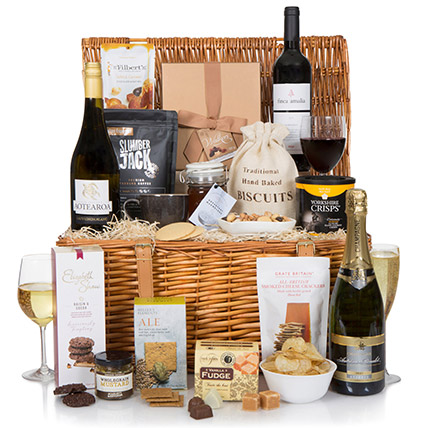 Luxury Food And Wine Hamper: Mothers Day Hampers UK