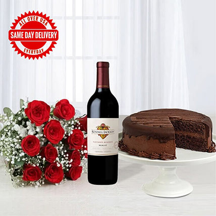 Red Wine Beauty Combo: