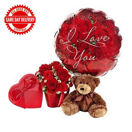 You Lift My Heart Bouquet: