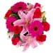 Pink Flowers Box Arrangement