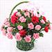 Carnations Love Basket