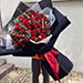 Love You Red Rose Bouquet