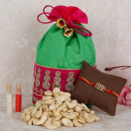 Online Rakhi with Dry Fruits Combo in Dubai UAE