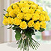 30 Yellow Roses Bouqet QT