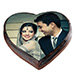 Romantic Photo Cake Eggless 2 Kg Vanilla Cake