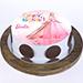 Princess Barbie Truffle Cake 1 Kg