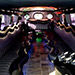 Royal Black Limousine Experience With Balloon Decor