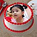 Creamy Photo Cake 1 Kg Butterscotch Cake