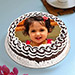Decorative Photo cake 1 Kg Black Forest cake