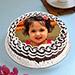 Decorative Photo Cake Eggless 1 Kg Black Forest Cake