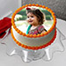 Delectable Photo Cake 1 Kg Butterscotch Cake