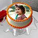 Delectable Photo Cake Eggless 1 Kg Vanilla Cake